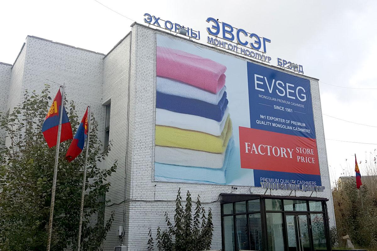 EVSEG Factory store price Mongolian Premium Quality Cashmere